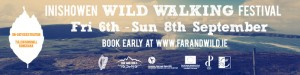 Wild Walking Festival Banner