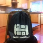 Hostelworld bag